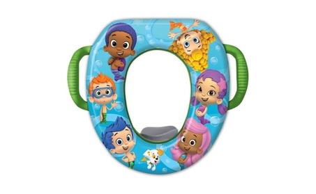 Nickelodeon Bubble Guppies Soft Potty Seat 83410ecb-718a-4867-a95d-ad1046cea0ce