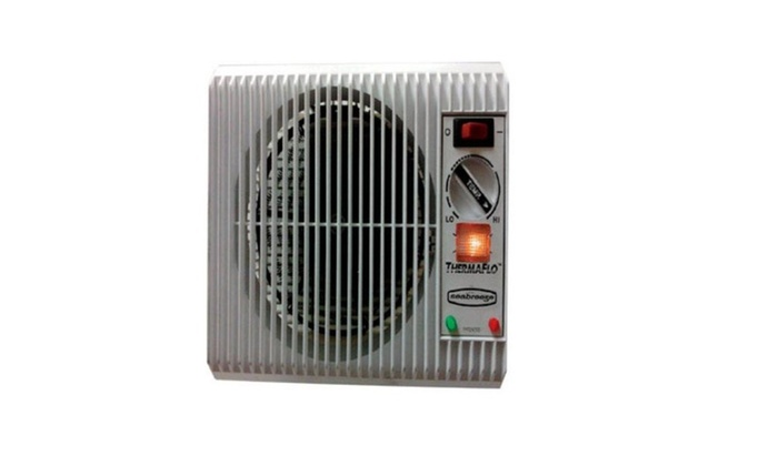 Seabreeze Off The Wall Heater With Thermaflo Technology, Silver