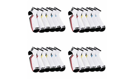 12 Pairs: HEAD Men's Athletic Moisture-Wicking Quarter/Athletic Socks be525666-7e17-487b-a38c-4f21bc38a321