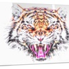 Ferocious Feline- Animal Metal Wall Art 28x12