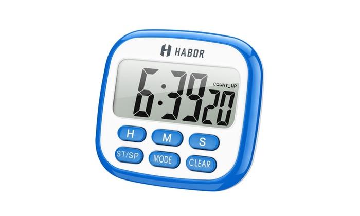 Nice Habor Digital Kitchen Timer Clock Cooking Timer Multifunction