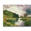 Thomas Moran Approaching Storm Amagansett Canvas Print