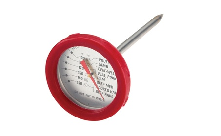 Grillmark 11391a Analog Stainless Steel Meat Thermometer 8537fd50-1676-4518-8f5e-8180a1819193