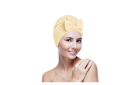Microfiber Shower Hair Wrap Bath Towel Hat Turban 89ca9f19-980f-40a6-8e98-35265ac735d3