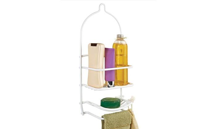 Bath Bliss Curve Design Shower Caddy   Groupon on shower caddies that won't rust, shower gel, shower door bottom plastic glide, shower shelves, shower heads, shower tray, shower enclosures, shower floors, shower tile, shower cap,
