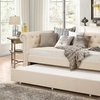 Mabelle Fabric-Upholstered Trundle Daybed