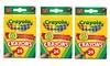 3 Pack Crayola Box of 24 Crayons Non-Toxic Coloring School Supplies