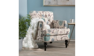 Madene Tufted Club Chair. Multiple Colors Available.
