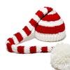 SHINA Newborn  Crochet Long Tail Pom-pom Photo Prop Hat Party Costume