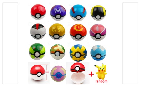 Pokemon Pokeball with FREE Pokemon Inside- Limited Time e98a7cc0-74f9-4808-b45b-4d8515b69454