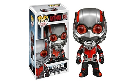 Funko POP Marvel: Ant-Man #85 Glow In The Dark Hot Topic Action Figure - Red 9d6914a7-b846-440d-ae44-528c47577d2b