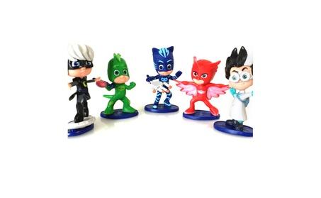 5Pcs Pj Cartoon Mask Characters Toys Catboy Gekko Action Figure Toys 6e9fff3a-ba3a-42ff-838b-d7eeb002792c