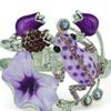 Amazing Style Enamel Glaze Frog Opened Bracelet