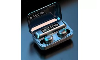 True Wireless Bluetooth Earbuds with 1200mAh Charging Case