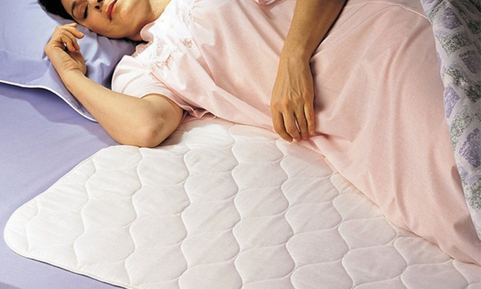QPower Premium Quality Waterproof Quilted Mattress Pad Groupon