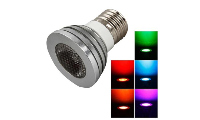 RGB Remote Control Light Bulb