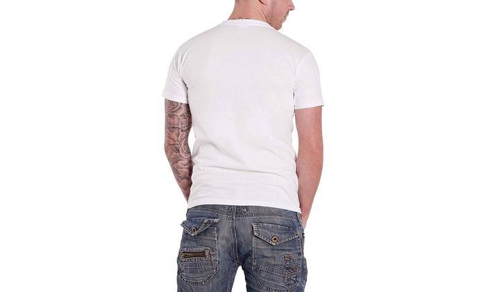 New David Bowie Blackstar Album Logo Men/'s White T-Shirt Size S to 3XL