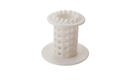 Hair Catcher Shower Drain Tub Bath Room Plug Strainer Pet Tub Corver - white a5d19794-c715-4711-96b1-cc1e01e26544