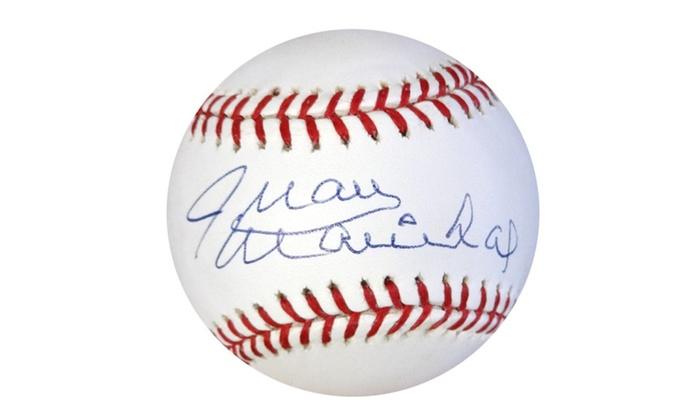 buy popular 06c33 ca790 Autographed Juan Marichal San Francisco Giants Official MLB Baseball
