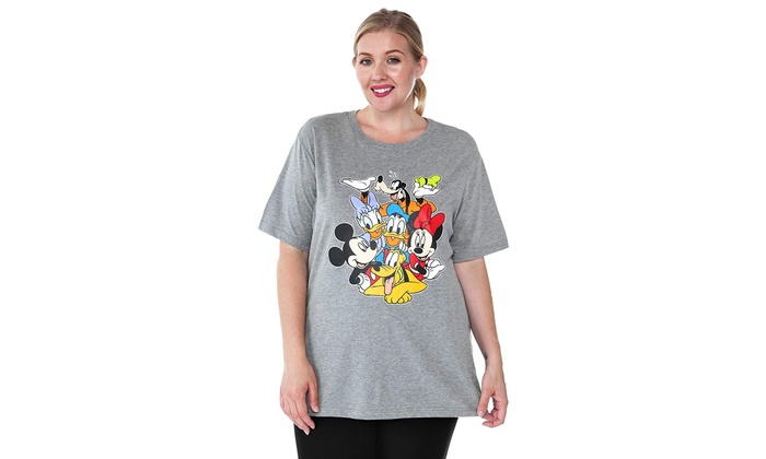 Up To 59% Off on Disney Women\'s Plus Size T-Sh... | Groupon Goods