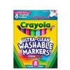 Crayola® Ultra-Clean Markers Broadline Washable 8ct Tropical Colors