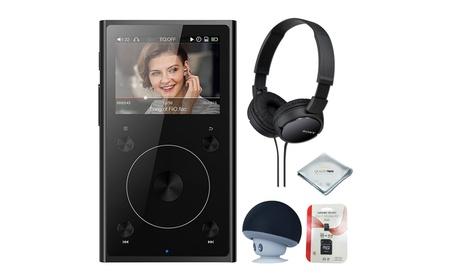 FiiO X1 2nd Gen, mp3 Portable Bluetooth Music Player + Accessories cba3437e-3cc3-4d48-8a75-b6c73f91873f