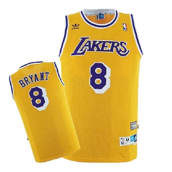 huge discount 05939 0a75f Kobe Bryant #8 NBA Rookie 96-97 Soul Swingman Home Jersey Adult Large