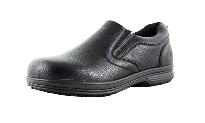 Men's Slip and Oil Resistant  Leather Shoes for Work