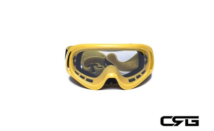 CRG Motocross ATV DIRT BIKE OFF ROAD RACING GOGGLES Adult T815-3-4