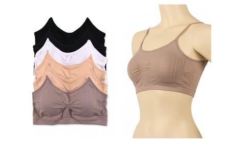Ladies Seamless Sports Bra 6-Piece Color Variety Set 0a2305ba-d55f-4db5-9054-28521985c34c