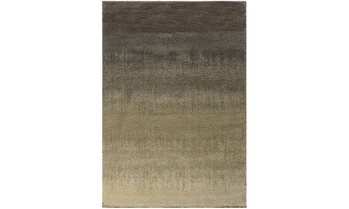 Monarch Rockport Grey Beige Abstract Area Rug Groupon