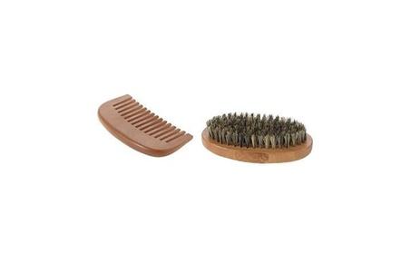 Beard Brush & Beard Comb Kit for Men Beard Mustache c239047b-a6ff-4ab1-92bf-cc272e659062