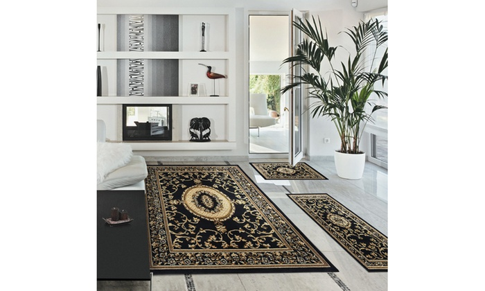 Clementina Woven Area Rug Set 3 Piece Groupon