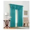 "Emerald Crepe 44X37"" Waterfall Window Valance"