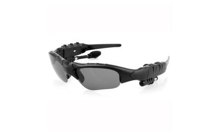 Wireless Music Sunglasses & Stereo Bluetooth Headset Headphone Black fc71c9aa-282f-4291-ad4e-482bfa30aefa