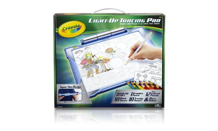 up to 43 off on crayola light up tracing pad groupon goods