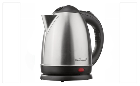 Brentwood Appliances 1.5 L Stainless Steel Electric Cordless Kettle photo