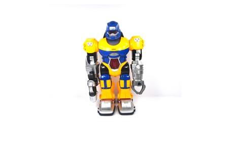 Power Warrior Lights Up and Walks Super Robot Boys Yellow 26d97fa1-4d28-4414-995a-75f867374e0d
