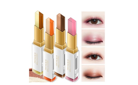 BIOAQUA Stereo Lipstick Double Color Eyeshadow Charm Three Dimensional d878861d-18a7-4392-a441-153c1c4adb11