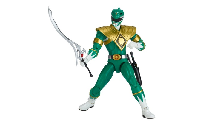 Power Rangers Legacy ‑ 6 5-Inch Mighty Morphin Green Ranger Legacy