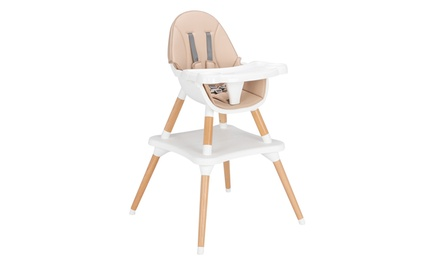 Children's High dining Chair Detachable Two-in-one Table and Chair