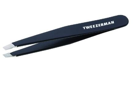 Stainless Steel Slant Tweezer, Black 74f5339b-b340-4fd1-8fab-8d1e669aec54