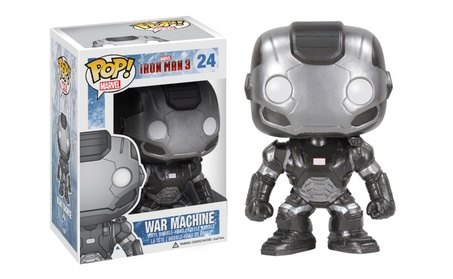 Funko POP Marvel Iron Man Movie 3: War Machine Action Figure - Gray b124be49-5ed5-4fc1-80ad-f3458f4f9d2c