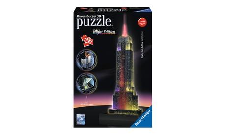 3D Puzzle - Empire State Building - Night Edition: 216 Pcs 69c2d112-eba4-4150-b14e-74904161034b
