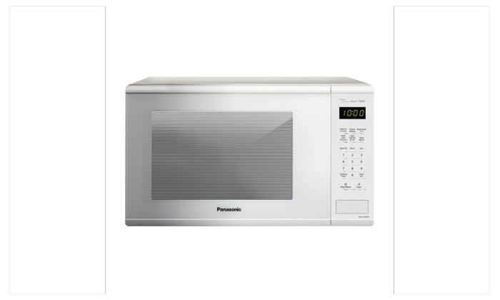 Panasonic Nn Su656w Microwave Oven W Genius Cooking Sensor White