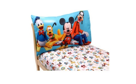 Mickey Mouse Playground Pals 2-Piece Toddler Sheet Set 25c48a50-71b0-4cb5-a616-66e9e4d85cc9