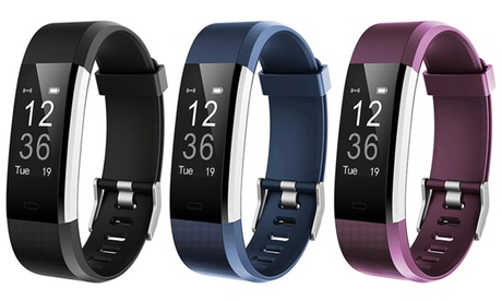 ID115HR Plus Fitness Tracker 0.96'' OLED Touch Screen with Heart Rate Monitor