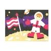 Sandtastik Preschool Kids Children Craft Peel N Stick Sand Art Board #