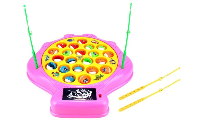 Deep sea shell fishing game for children battery operated for Groupon deep sea fishing