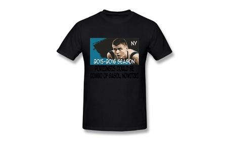 Men's New York Knicks Kristaps 6 Porzingis T Shirts 5f7d67c7-fa74-4a9b-b9ea-599560f5e74e